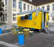 »Geschichten unter der Haube«: Der Pop-up-Salon in Göppingen © KulturRegion Stuttgart