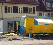 »Geschichten unter der Haube«: Der Pop-up-Salon in Plochingen © KulturRegion Stuttgart